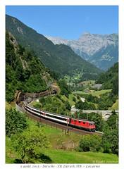 """Re 4/4"""" 11134 - Intschi (CC72080) Tags: train sbb locomotive ffs cff re420 re44 intschi gothard interrégio"""