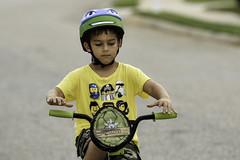 The DoodleBug, letting go (Amanda L Brewer) Tags: bike nohands doodlebug centervillega amandalbrewer