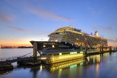 Mein Schiff 4 in Liverpool (Jeffpmcdonald) Tags: uk liverpool cruiseship rivermersey liverpoolcruiselinerterminal tuicruises nikond7000 jeffpmcdonald meinschiff4 sep2015