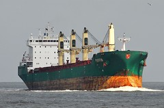 Puffin (Bernhard Fuchs) Tags: water boat nikon ship ships cargoships vessel cargo elbe schiffe bulk cuxhaven frachtschiffe bulker