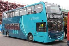 Arriva Buses Wales Alexander Dennis Enviro400 4645 (CX15 BXY) (john-s-91) Tags: chester arriva 4645 alexanderdennisenviro400 arrivabuseswales cx15bxy chesterroutex2