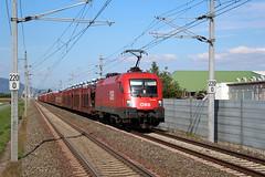 BB 1116 028 (2015-10-01) (railspotter graz) Tags: siemens eisenbahn rail railway taurus bahn bb lokomotive lok oebb elok 1116