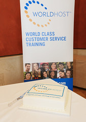 WorldHost Celebration and Certificate Presentation