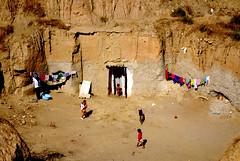 guadix (maubri) Tags: street urban landscape spain andalucia cave spagna cuevas guadix gitano