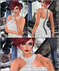 341 - Shona (Sannita_Cortes) Tags: fashion female formal sl secondlife virtual styles gown ikon zoz cae virtualworld maitreya slink pinkcherry virtualfashion argrace glamaffair eternaldreamposes leprimitif hillyhaalan theoutergarden