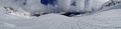 Panorama of Fresh Tracks at Huemul (A. Wee) Tags: chile panorama chillan  huemul freshtrack nevadosdechillan