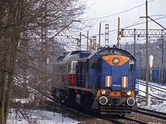 TEM2-004 (MarSt44) Tags: winter train private diesel tamara poland polska rail railway zima pcc kolej tem2 brzeszcze tem2004