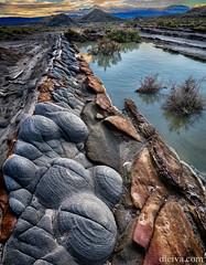 Texturas del Desierto de Tabernas (dleiva) Tags: parque sunset textura de landscape natural desierto crepusculo domingo roca piedra leiva paraje tabernas dleiva
