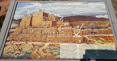 Artist rendition of what the pueblo would have looked like some 900 years ago