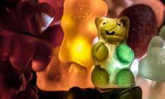 Guilty pleasure (melanie.lebel94) Tags: bear red orange green smile yellow photography candy erasmus bonbon gummy gelatine ourson 2015 friandise glatine