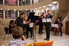 Classical Chamber Music at the Eastern District of New York (Diacritical) Tags: music brooklyn community beethoven bach event 35 chambermusic ravel f24 iso4000 edny summiluxm11435asph centerweightedaverage leicacameraag sec secatf24 leicamtyp240 douglascpalmer november42015 ev
