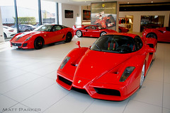 Toy Shop (MJParker1804) Tags: ferrari enzo f40 599 gto rosso corsa red v12 v8 twin turbo hypercar supercar rare jct600 brooklands leeds