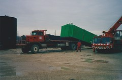 Kenworth in Albania (smokey pipes) Tags: truck crane rig oil albania winch oilfield skid kenworth fier