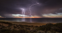 Electrical Storm over Rottnest