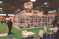 White Exhibition Stand