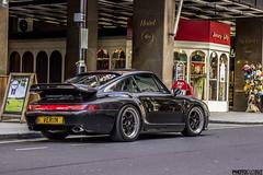 Porsche 911 (993) with some Gemballa bits! (Photocutout) Tags: london classic cars 911 porsche mayfair rare sportscars supercars 993 gemballa