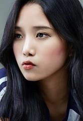 Sense (Bomm Pak) Tags: portrait cute girl beauty face fashion female eyes emotive hairs sense