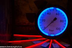 under pressure.... (The Urban Adventure) Tags: 35mm nikon neon bokeh urbandecay engine radiation radioactive pressure gauge urbanexploring urbex lowepro pye creativephotography testequipment creativetabletop bokehlicious bokelicious ngte pyestock budenburg d7200