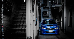 Subaru WRX STi, Tokyo, Japan (Darcey Prout) Tags: japan tokyo nikon subaru wrx sti jdm 2012 d800 2014 wrb wresting worldrallyblue 2013