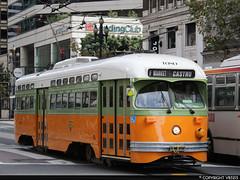 San Francisco Municipal Railway #1080 (vb5215's Transportation Gallery) Tags: muni san francisco municipal railway 1946 exnj transit st louis car pcc