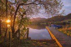 The Port of Menteith (J McSporran) Tags: scotland trossachs lochlomondandtrossachsnationalpark lakeofmenteith portofmenteith inchmahome landscape sunset boats pier canon6d ef1635mmf4lisusm