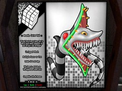 Free Nightmare Event Gift! (ReignShadow) Tags: firestorm secondlife nightmare event 2016 snake monster giest beatle serpent