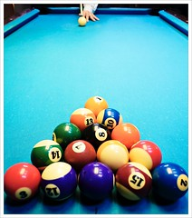 Day 269 - Game On (Free 2 Be) Tags: dailyphoto game postaday 365 project365 balls photoaday table pool billiards competition