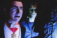 Classic Monster Pack (Herr Nergal) Tags: monster horror table top halloween classic dracula frankenstein wolfman close up figures toys
