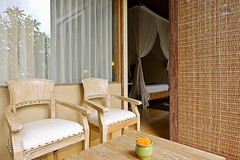 Outdoor seating space (A. Wee) Tags: sankara resort hotel  ubud bali  indonesia  terrace balcony