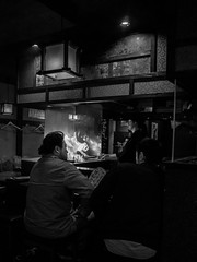 . (Elliott Fusy-Pudal) Tags: osaka temma street shop food night neonlights bar izakaya 大阪 天満 夜 商店街 居酒屋 ネオン