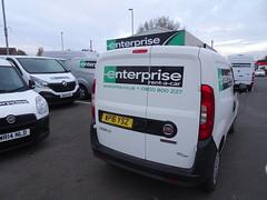 No prizes... (stevenbrandist) Tags: enterpriserentacar rental van fiat doblo wp16ysz loughborough leicestershire