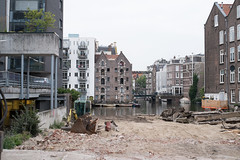 Intermission (photosam) Tags: amsterdam noordholland netherlands fujifilm xe1 fujifilmx prime raw lightroom xf35mm114r xf35mmf14r cloudy architecture demolition redevelopment