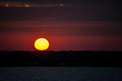 sunrise (-gregg-) Tags: sunrise morning peaceful clouds chesapeake bay maryland