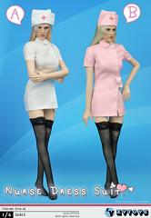 ZY TOYS ZY-16-18 Nurse Uniform - 01 (Lord Dragon 龍王爺) Tags: 16scale 12inscale onesixthscale actionfigure doll hot toys zytoys