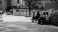 break time (yoshi_2012) Tags:  bw hakatastation xf35mmf14 fukuoka xt1 monochrome streetphotography fujifilm