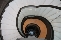 Stairs like a flower (Elbmaedchen) Tags: staircase treppe treppenauge roundandround stairs upstairs berlin waldorfastoria