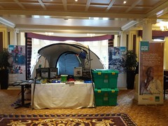 ShelterBox at Rotary District 1020 Conference Majestic Hotel Harrogate (woodytyke) Tags: woodytyke stephen woodcock photo photograph camera foto photography best picture composition digital phone colour flickr image photographer light publish print buy free licence book magazine website blog instagram facebook commercial 1220 1040 1270 wakefield barnsley yorkshire normanton rotary district shelterbox green box charity scouts school fundraising international disaster relief club donation ribi rockley speaker talk demonstration lincolnshire north south east riding tent display event
