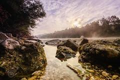 Fluss_Nebel (stegra-foto) Tags: fluss traun wels nebel morgen landschaft hdr