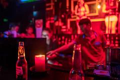 twist of lemon (Rob-Shanghai) Tags: corona beer pub club nightout lights shanghai china band bar leicaq drinks
