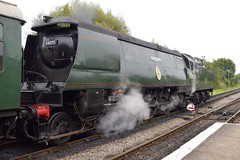 34070 Manston (The Wibbly One) Tags: manston 34070 corfecastle swanagerailway