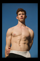 Kevin-Thompson-by-Jeff-Segenreich (Havana Miami) Tags: redhead model shirtless 6pack muscle whiteboi