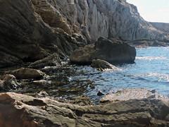 (lea duveau) Tags: vacation beach water sky nature blue light sun landscape summer sea marseille france