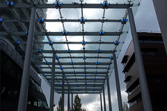 Do you feel being watched......? (hans_verduin) Tags: almere shopping blue