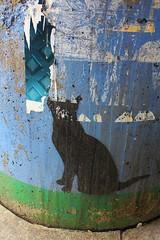 Nemo_2120 place du 21 avril 1944 Saint Denis (meuh1246) Tags: streetart nemo placedu21avril1944 saintdenis animaux chat