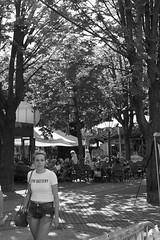 Low battery (Wookiee!) Tags: brunette young jong pretty mooi beauty schoonheid girl meisje woman vrouw candid streetphotography straatfotografie street straat stad city strangers vreemden photography fotografie canon d550 dslr 35mm bw monochrome blackandwhite zwartwit shertogenbosch duketown denbosch 073 the netherlands dutch wwwgevoeligeplatennl low battery