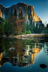 El Capitan, Merced River, Yosemite, California (Wes Pettus) Tags: elcapitan yosemite california water river travel landscape sierras sunrise merced winter