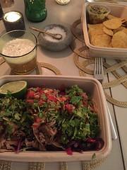 Middag 27/10 (Atomeyes) Tags: mat tacos fläsk öl tortilla chips guacamole