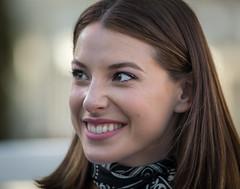 Un beau sourire (maoby) Tags: rouge un beau sourire nikon d500 180mm elle she