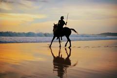 Sumbanese Warrior (MrCrisp) Tags: sumba indonesia nihiwatu horse tribal tribes traditional sunset beach colour colourful travel