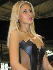 beauty (themax2) Tags: eicma model promoter milano girl 2005 hostess portrait blonde